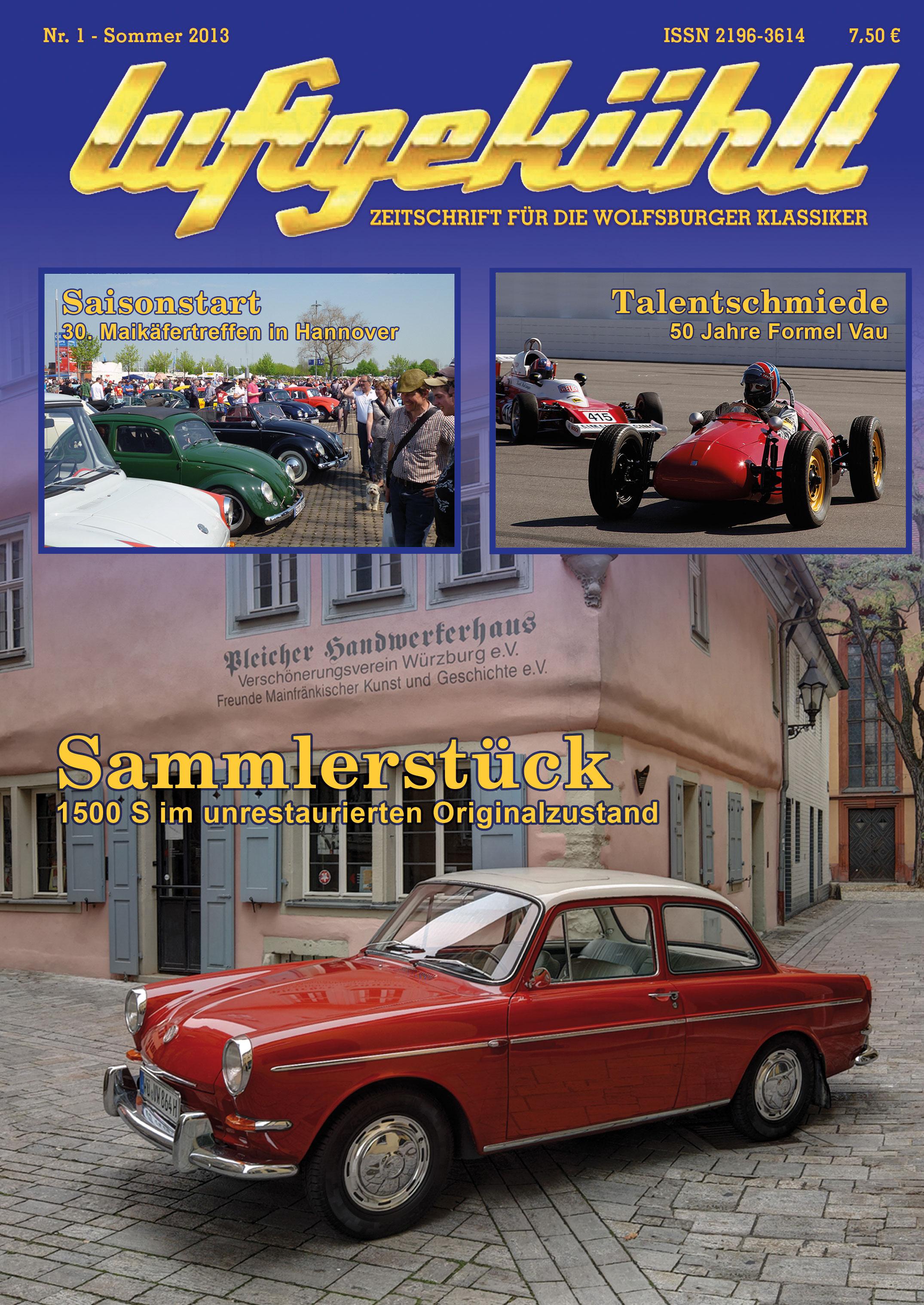 Titelseite des Hefts Nr. 1